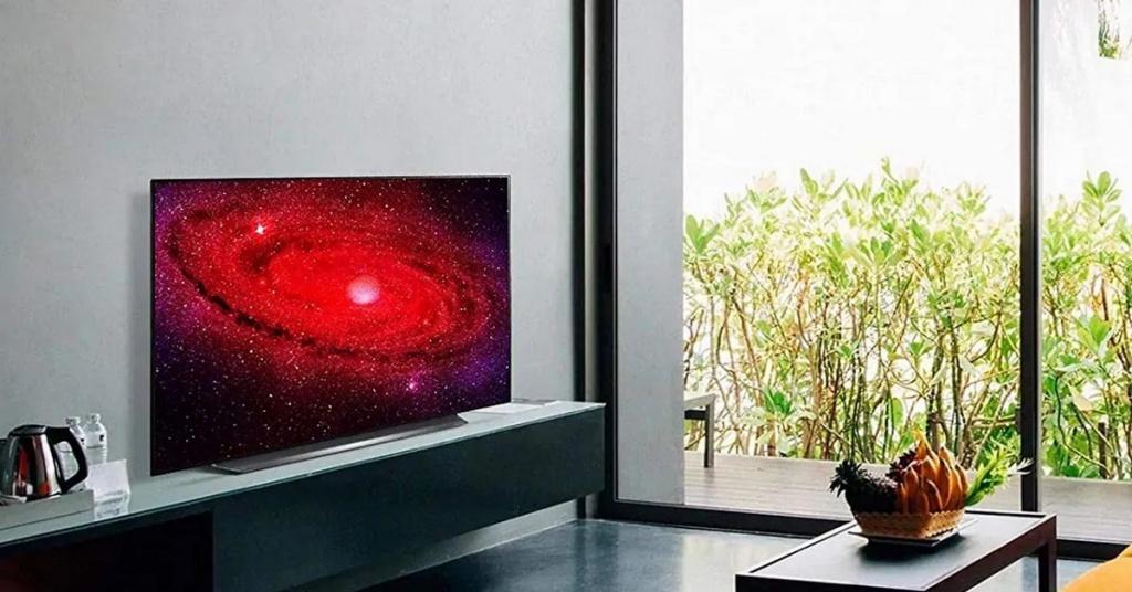 Téléviseur intelligent LG OLED CX