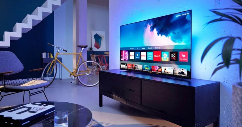 Smart TV OLED sur le côté