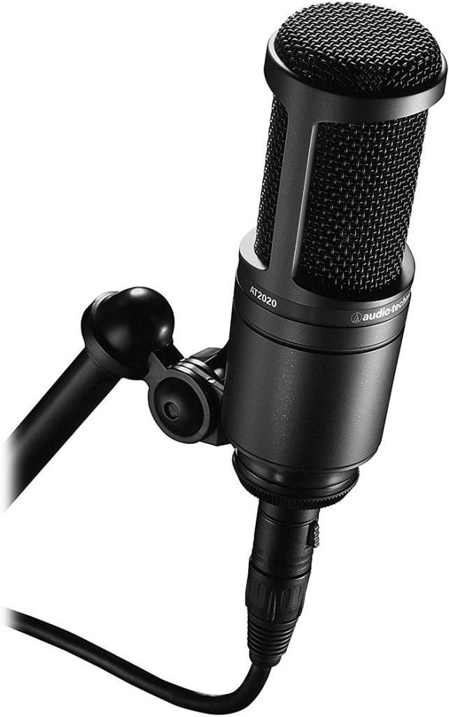Microphone YouTube Audio-Technica AT2020