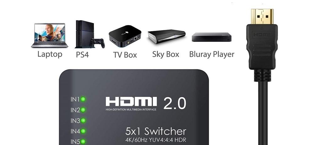 Commutateur HDMI Neoteck
