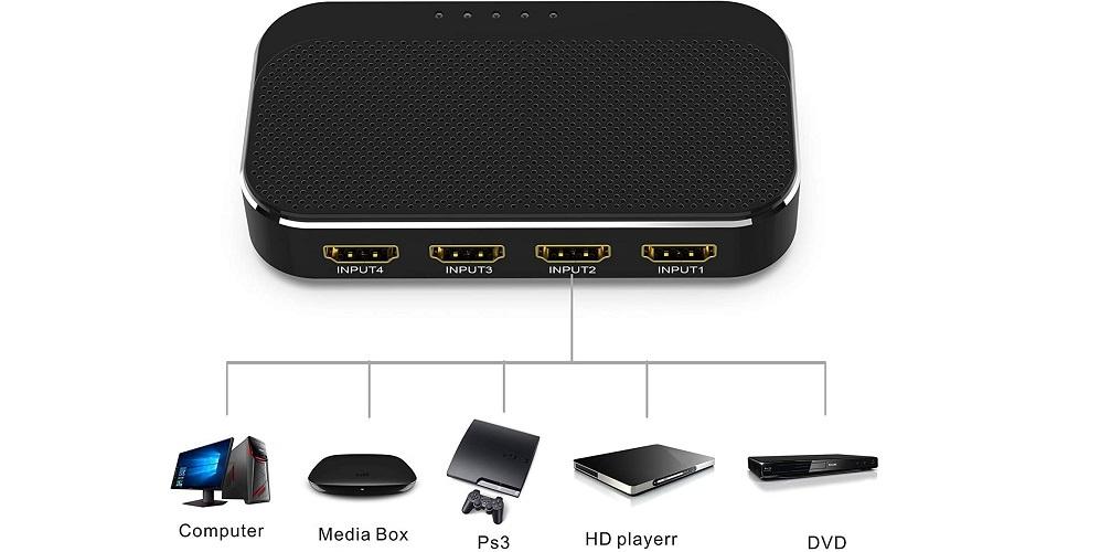 Commutateur HDMI ABLEWE
