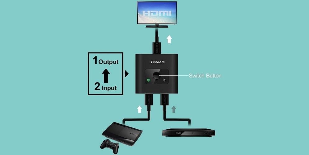 Commutateur HDMI Techole