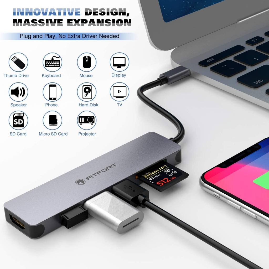 Concentrateur USB C