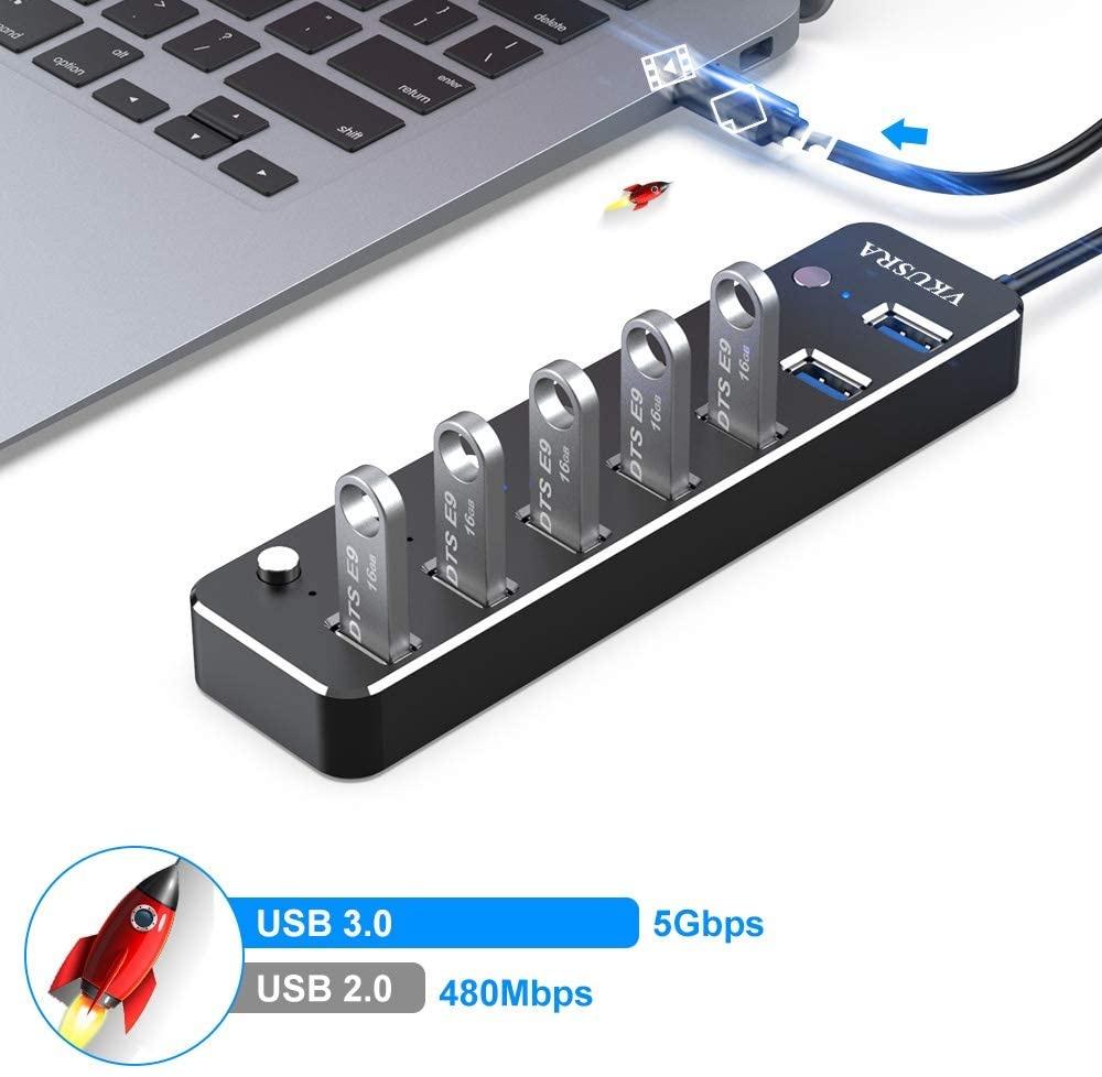 Hub USB 3.0 VKUSRA,