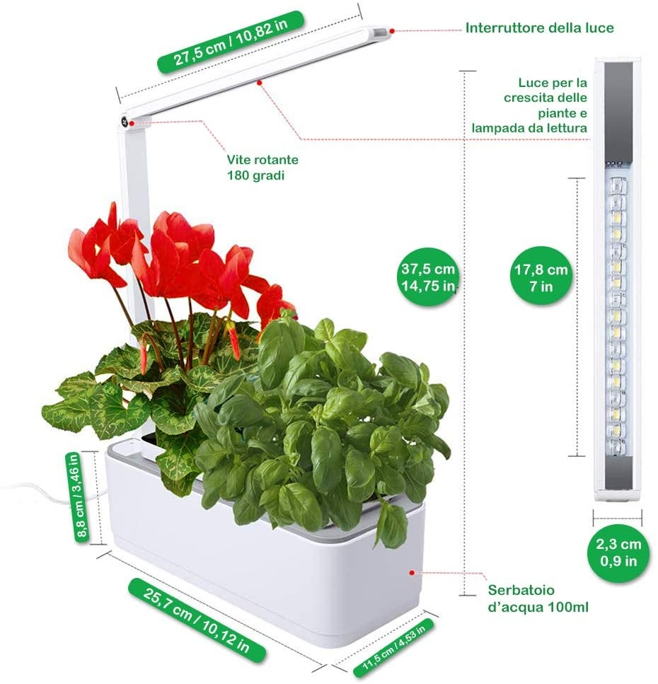 Jardin intelligent amzWOW Smart Garden