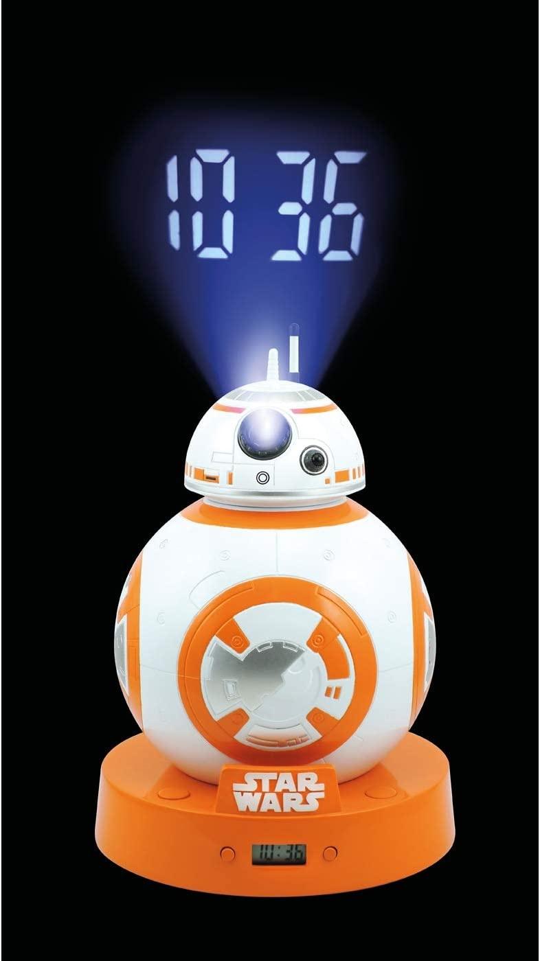 Réveil numérique eloj avec projection LCD et BB-8