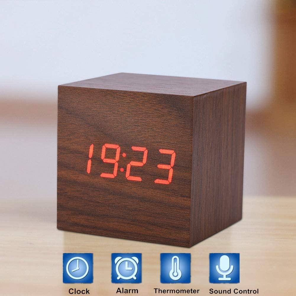 Réveil numérique à LED