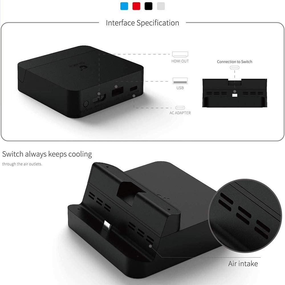 station d'accueil portable pour Nintendo Switch