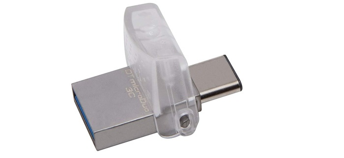 Kingston DataTraveler MicroDuo USB Type C Pendrive