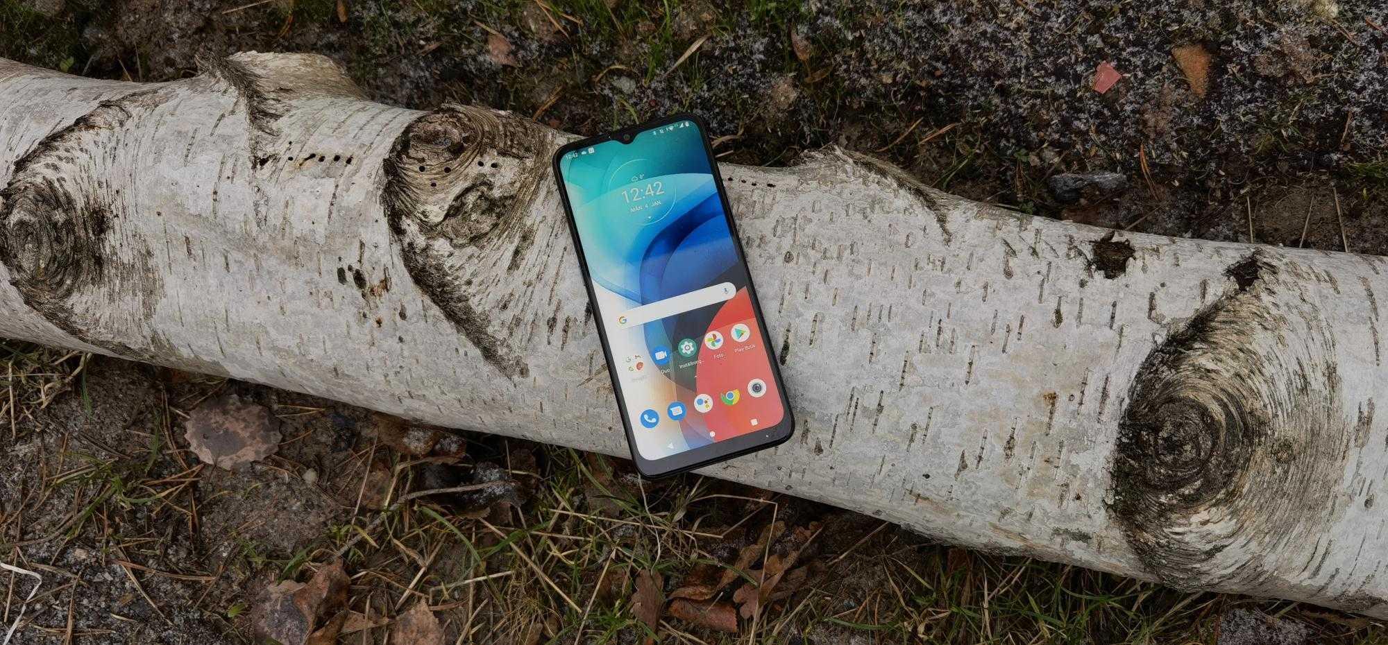 Test: Motorola Moto E7 - Au bord du smartphone