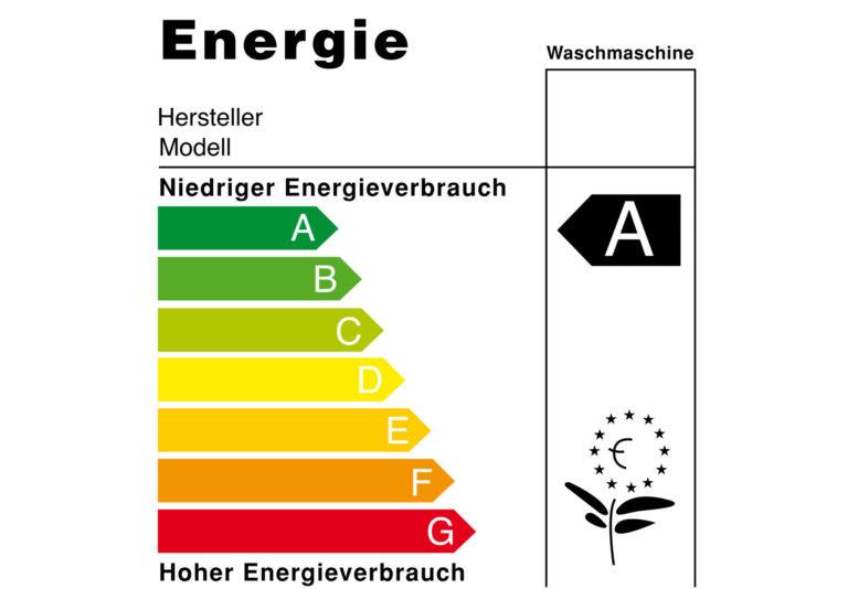 Etiquette énergétique (partie supérieure) (Image: commons.wikimedia.org)