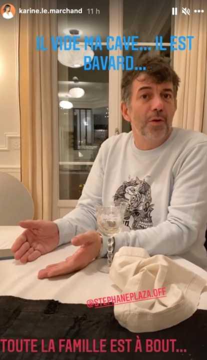 Stéphane Plaza, saoul chez Karine Le Marchand, il balance tout