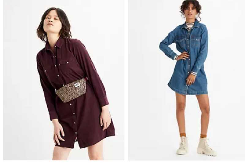 Levi's : toutes les femmes veulent porter sa robe chemise à petit prix !