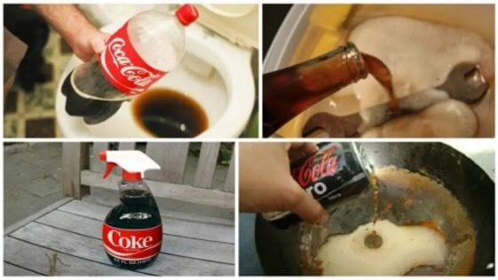 Ménage : NEUF utilisations incroyables, insoupçonnées du Coca-Cola pour tout nettoyer chez vous !