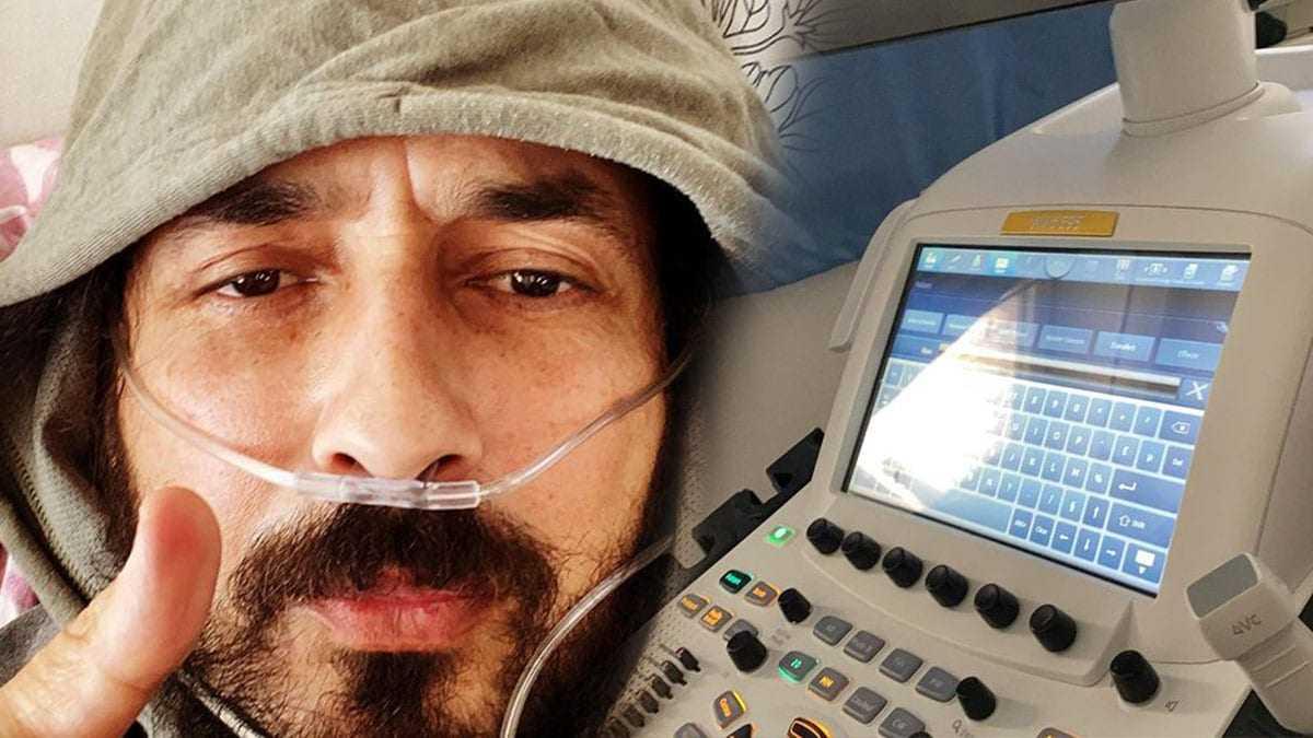 Moundir, au plus mal, victime d'une embolie pulmonaire qui aurait pu avoir de terribles conséquences