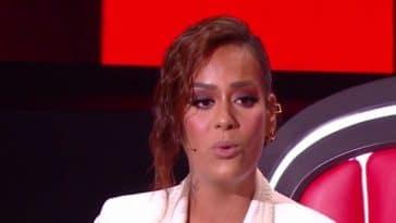 Amel Bent (The Voice) découvrez le prix exorbitant de sa tenue pour la finale, les fans hallucinent