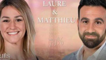 Laure (Mariés au premier regard) craque totalement pour Matthieu, sa folle déclaration enflammée