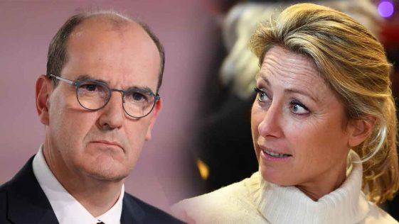 Anne-Sophie Lapix complètement refroidie par Jean Castex, elle prend ce choix radical sur France 2!