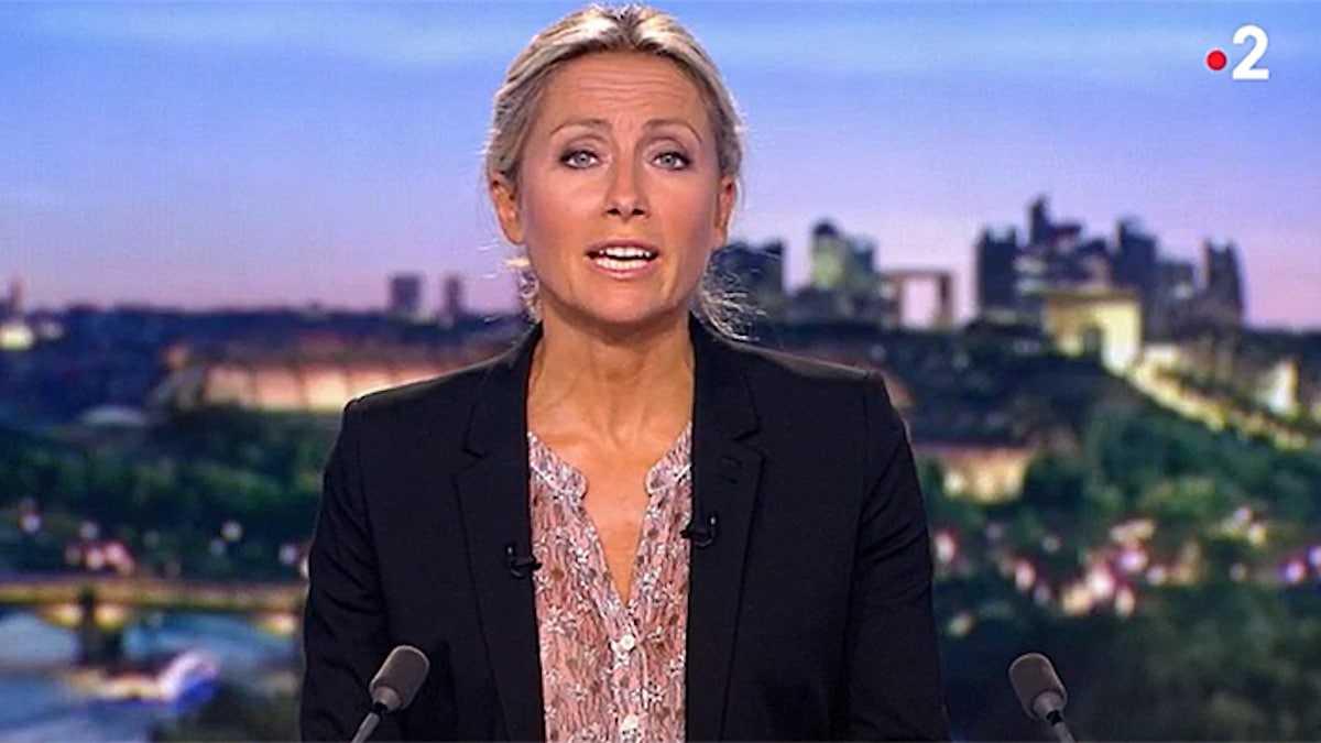 Anne Sophie Lapix (France 2) : son départ et message d'au revoir aux téléspectateurs