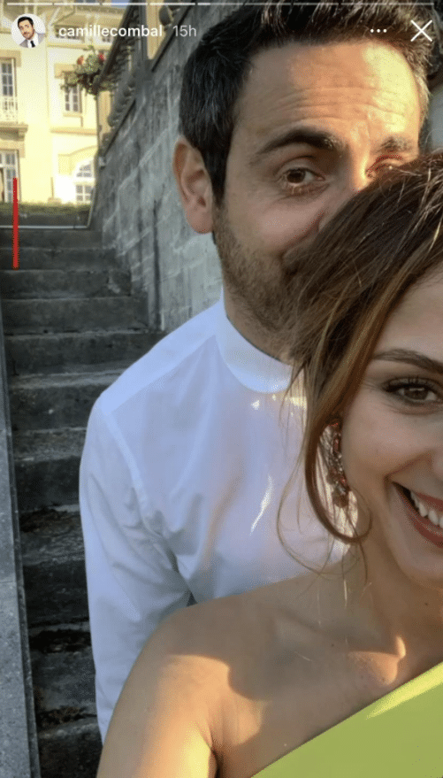 camille-combal-et-sa-compagne-marie-sur-instagram-rare-image-lors-dun-mariage