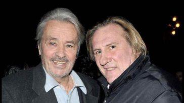 Menaces, clash, insultes, Gérard Depardieu et Alain Delon en imposent (trop) lors de ce tournage