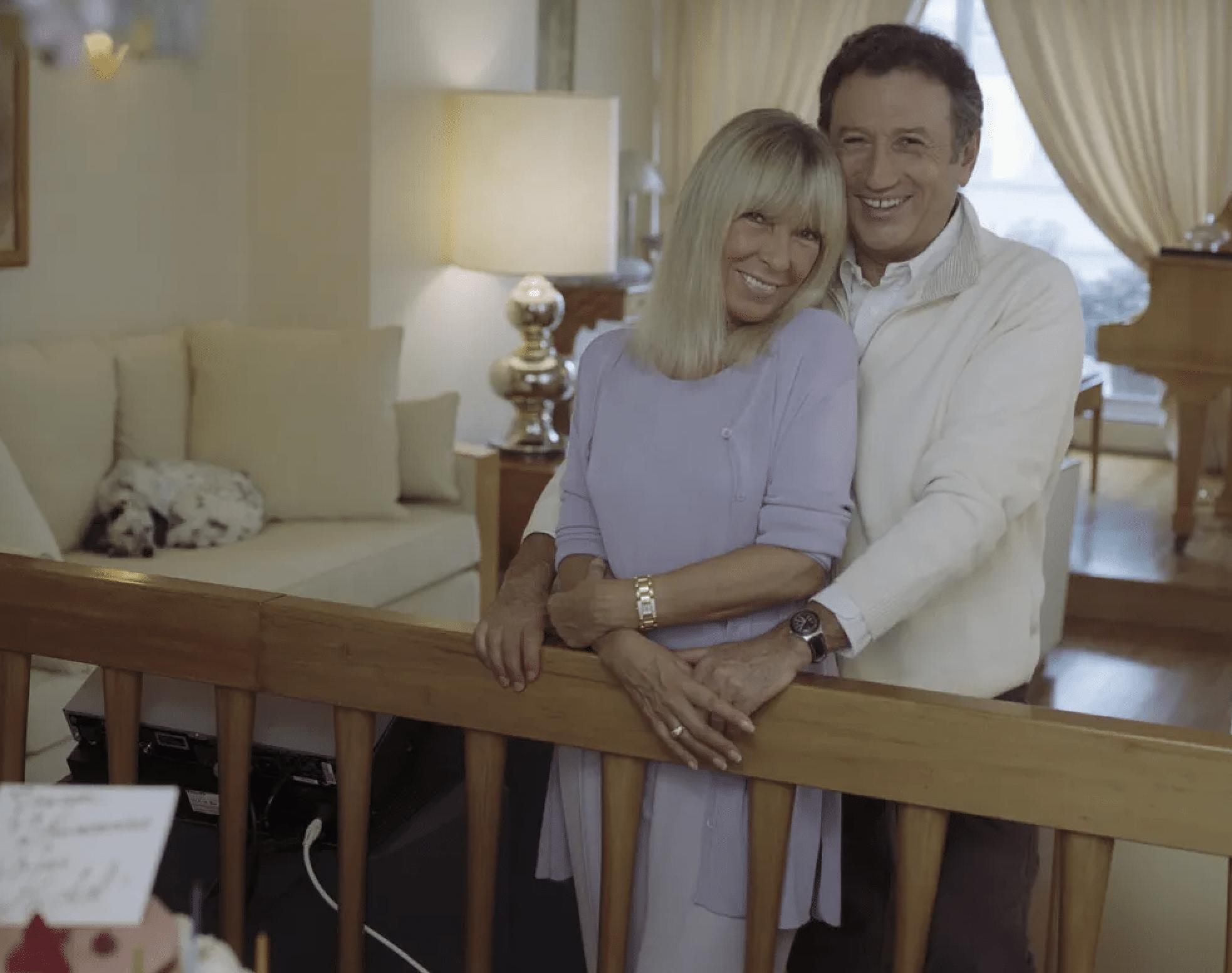 michel-drucker-et-dany-saval-couple-heureux