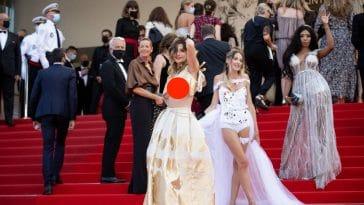 Cannes 2021 : accidents de robe, grimaces de stars… florilège de photos insolites pour cette 74e édition