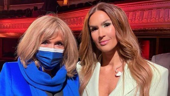 Vitaa voit les choses en grand : une collaboration avec Brigitte Macron et Carla Bruni pour la chanteuse !