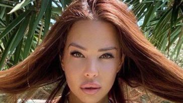 Kim Glow fait exploser les thermomètres : sa pose sexy en bikini affole les réseaux sociaux