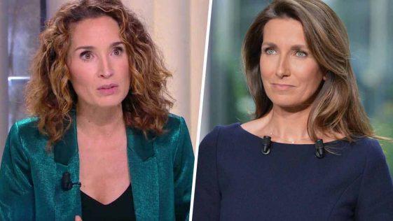Marie-Sophie Lacarrau et Anne-Claire Coudray : des tensions entre les deux présentatrices ? On vous raconte tout