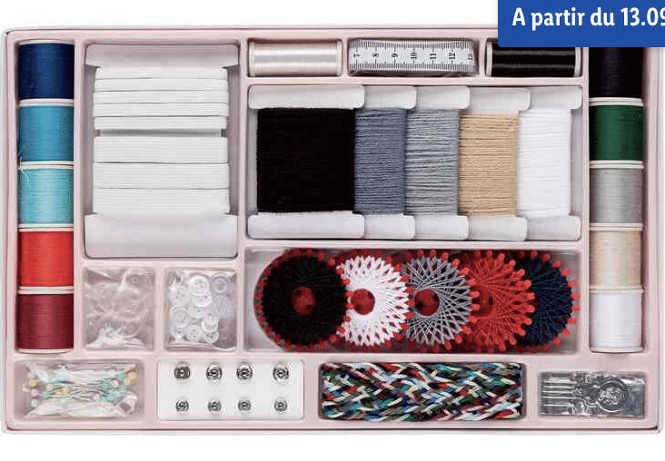 Lild frappe une nouvelle très fort et propose un ensemble d'accessoires très pratiques et indispensables pour la couture à prix tout doux