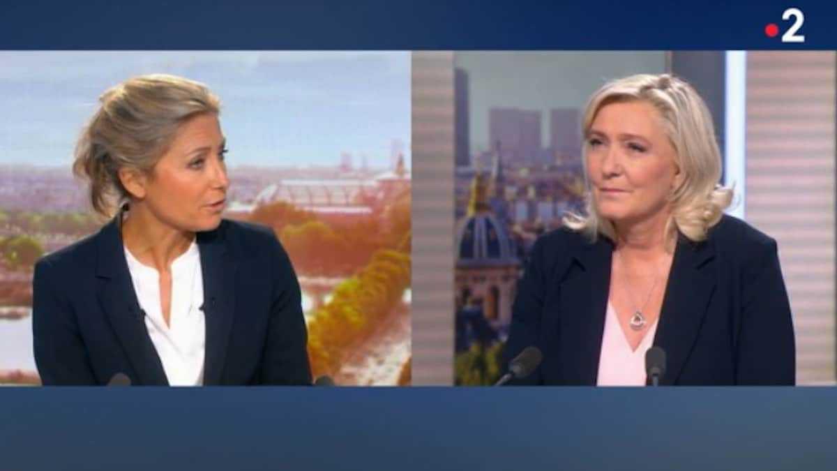 Anne-Sophie Lapix : le JT de 20h sur France 2 est sanctionné par Marine Le Pen