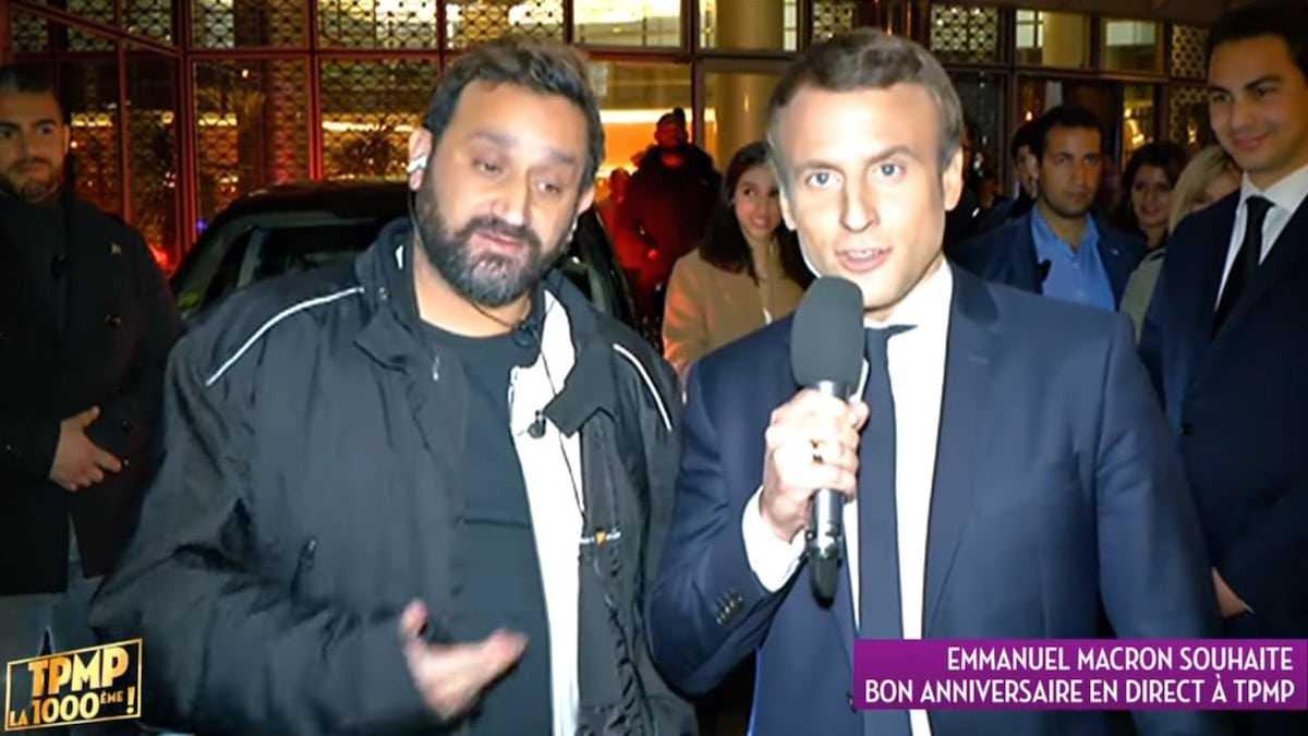 """Cyril Hanouna : les détails d'un échange de sms entre l'animateur de """"TPMP"""" et Emmanuel Macron"""