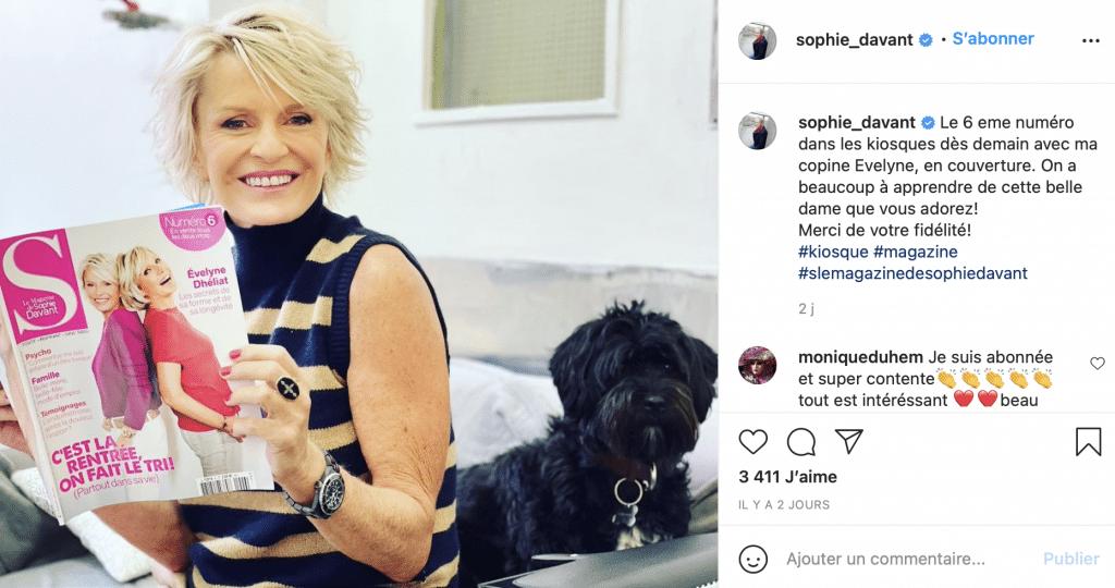 evelyne-dheliat-sophie-davant-instagram-magazine-s-confidences