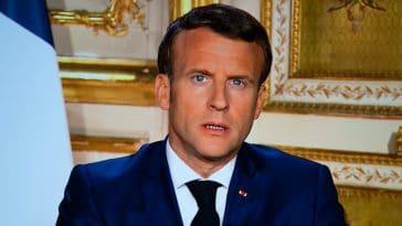 France : Emmanuel Macron, victime d'un jet de projectile, ce gros incident à Lyon !