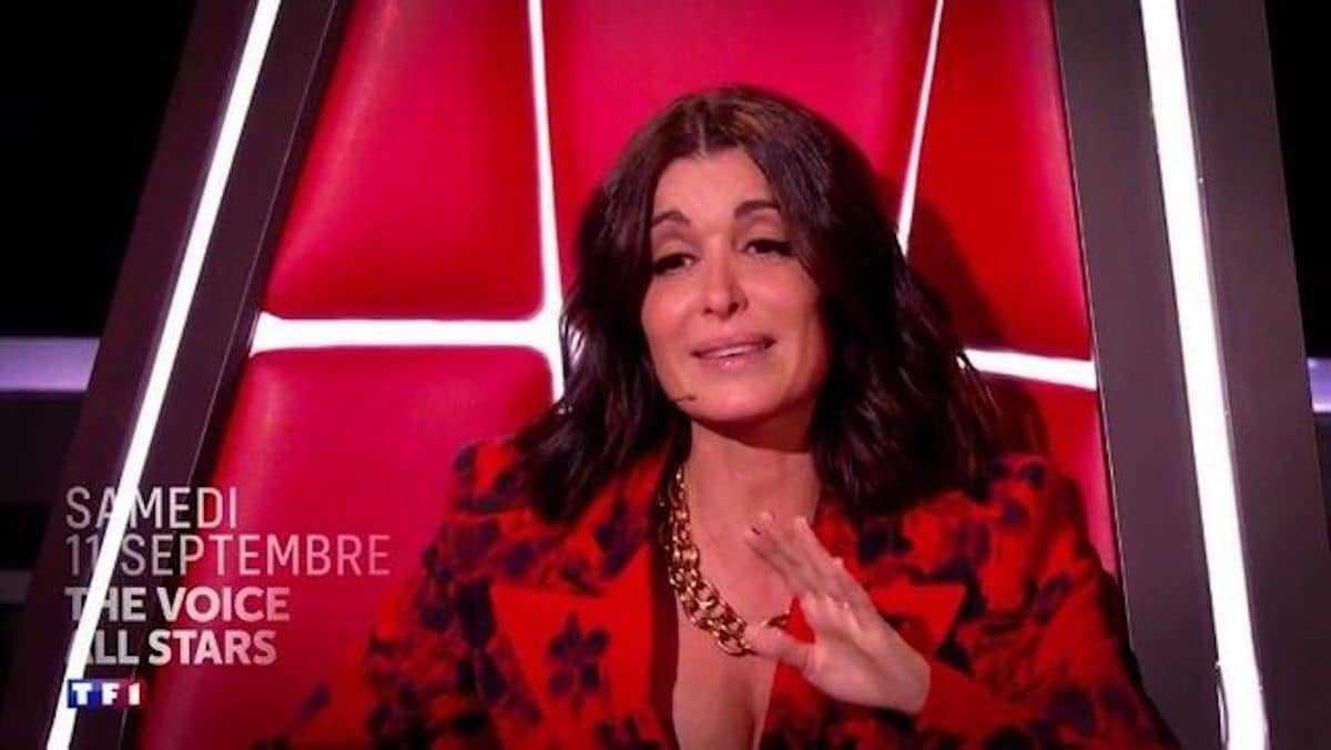 Jenifer (The Voice) incapable de retenir ses larmes, elle explose en sanglots en plein tournage !