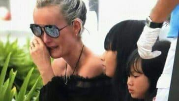 Laeticia Hallyday bouleversée : Joy sa fille annonce le décès d'un membre de la famille