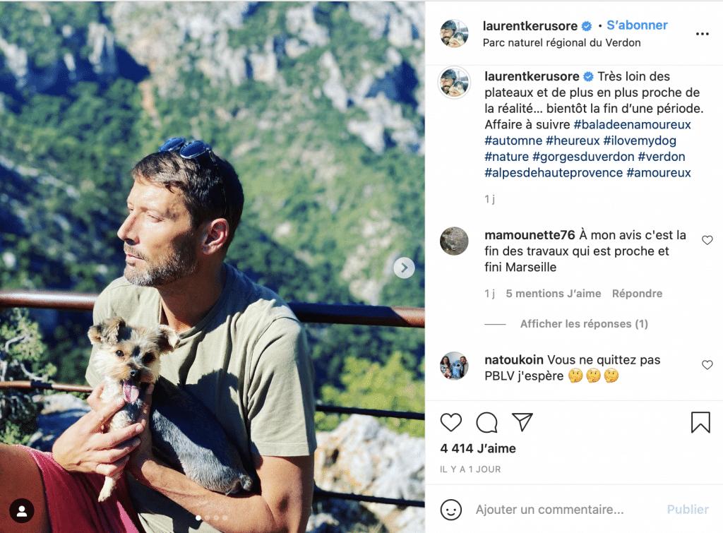 laurent-kerusore-plus-belle-la-vie-france-3-instagram-depart-rumeur