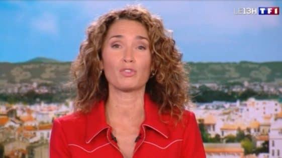 Marie-Sophie Lacarrau (JT 13H) : victime d'un coup de chaud, record total pour Julian Bugier