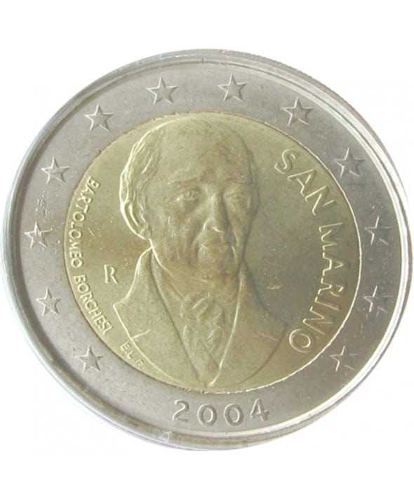 piece-de-2-euros-bartolomeo-borghesi-numismate-italie-san-mariano