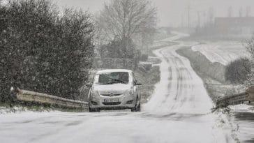 Pneus hiver obligatoires : Découvrez la carte des départements qui sont concernés