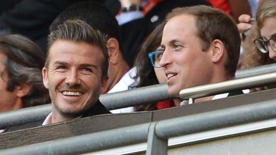Prince William : cette dramatique soirée où David Beckham arrive blessé !