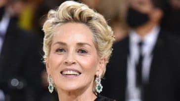 Sharon Stone en robe léopard : elle fait un carton auprès du public, malgré ses 63 ans !