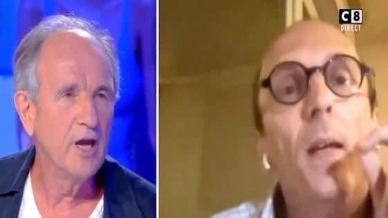 TPMP : les détails de cet énorme clash entre Fabrice Di Vizio et Jean-Paul Hamon