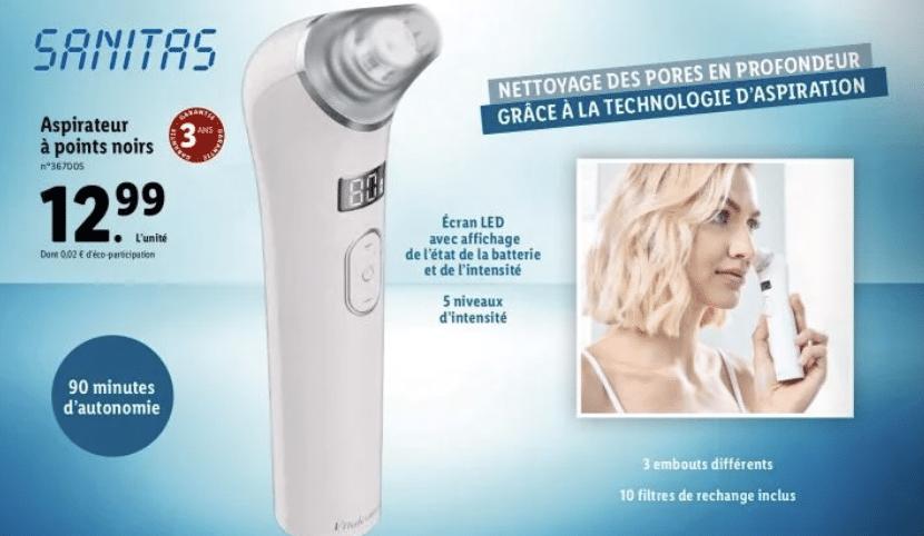 Lidl frappe une nouvelle fois très fort avec cet appareil beauté pratique et indispensable pour moins de 15 euros