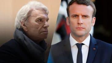"""Bernard Tapie : ses rendez-vous """"en cachette"""" à l'Elysée avec Emmanuel Macron"""