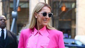 Céline Dion rock et sexy, en pantalon en cuir tendance... Il cartonne chez Zara