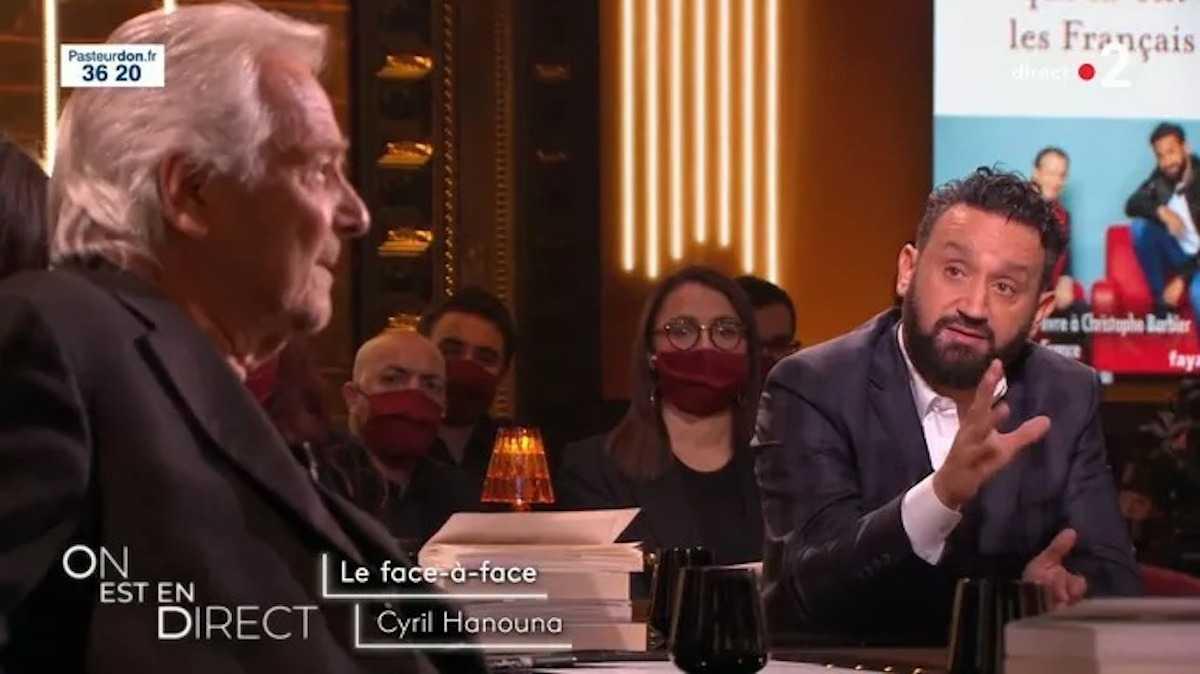 """Cyril Hanouna et Pierre Arditi : gros clash dans """"On est en direct"""", les détails du débat"""