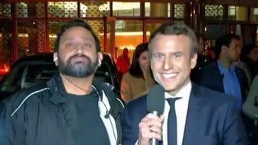 Cyril Hanouna proche d'Emmanuel Macron ? Ce service qu'il lui a rendu