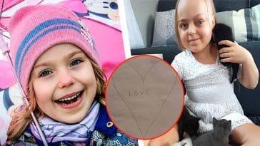 Des parents effondrés, en découvrant le 'testament' de leur fille de 8 ans décédée d'un cancer